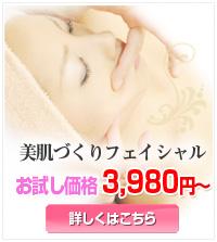 美肌づくりフェイシャル|米沢市エステティックサロン ビークラッセ(b-classe)